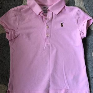 Pink Short Sleeve Polo